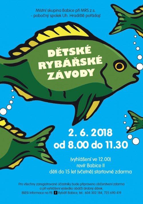 Pozvánka na Dětské rybářské závody