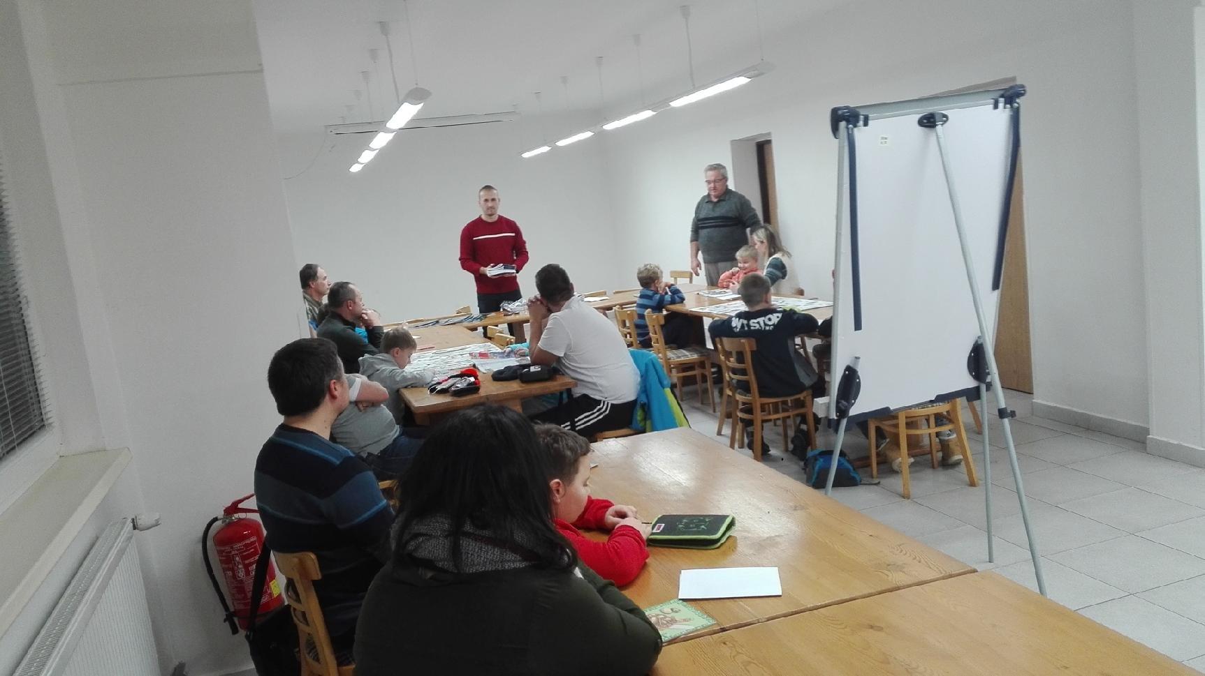 Zahájení Rybářského kroužku mládeže v Uherském Hradišti