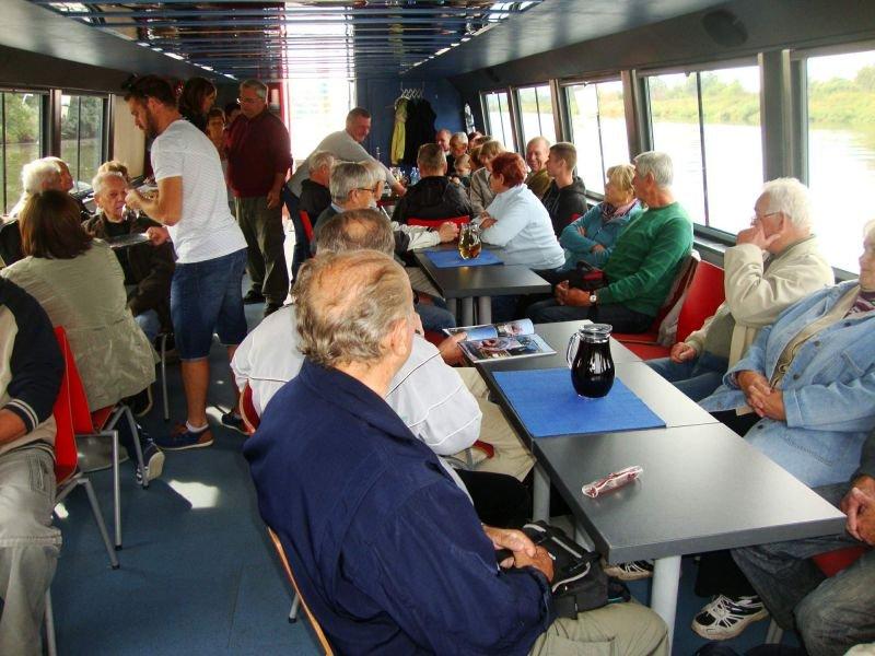 Výlet lodí po řece Moravě pro dlouholeté a čestné členy našeho spolku