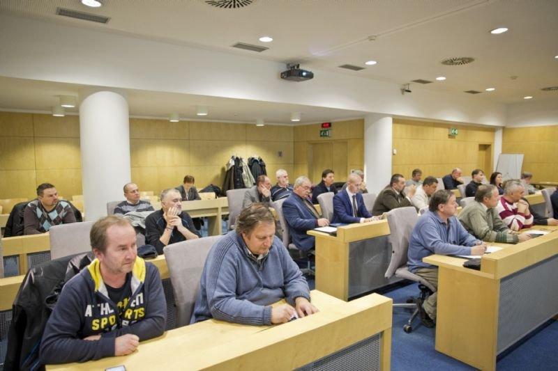 Jednání zástupců ryb. spolků MRS, působících na území Zlínského kraje
